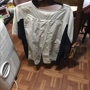 Madewell shirt almost like a back less